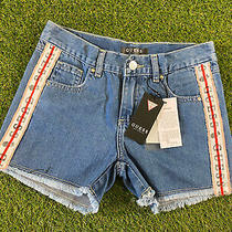 Guess Blue Denim Ladies Shorts Size 12 Photo