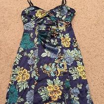 Guess Blue Floral Lingerie Nightie Womens Size 1 Nwot Photo