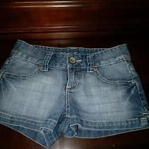 Guess Blue Jean Shorts Size 24 Photo