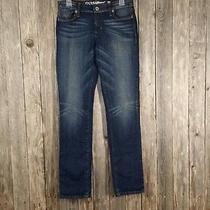 Guess Blue Jeans Size 28 Denim Stretch Straight Leg  Photo