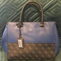 Guess Blue Rock and Roll Stud Purse Photo