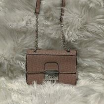 Guess Blush/pink Crossbody Purse With Chain/leather Strap Nwot Photo
