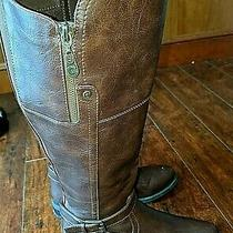 Guess Boots Closed Toe Knee High Fashion  Brown Size 8.0 M G by Guess Harson   Photo