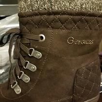 Guess Boots Shoes Women Brown Winter Pull on New Nib Us 7.5 Nice Free S/h Photo