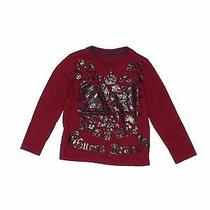 Guess Boys Red Long Sleeve T-Shirt 3 Photo