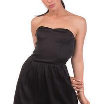 Guess Bubble Dress Size S Elasticated Back Adjustable Straps Sleeveless Bandeau Photo