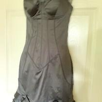 Guess by Marciano Black Satin Corset/bustier Dress Photo