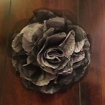 Guess by Marciano Flower Brooch Black Grey Photo