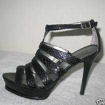 Guess by Marcianogladiator Sandalsblack6-1/2 Photo
