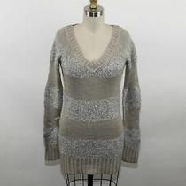 Guess by Marciano Ladies Brown/gray Knit Tunic Sweater Size Xs Photo