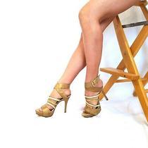 Guess by Marciano Sz 7 M Copper Strappy Open Toe Women's Heels Photo