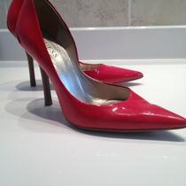 Guess Carrie Pump Cherry Red 6 Photo