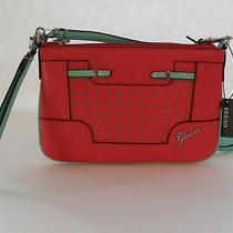 Guess Cherry Multi Fashion Mini Clutch Crossbody Brand New Photo