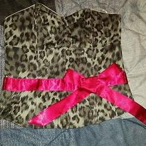 Guess Clothing Sexy G by Guess Leopard Corset Photo