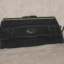 Guess Clutch Purse Black Photo