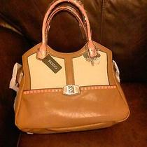 Guess Cognac Multi Handbag Photo