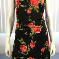 Guess Collection Dress Size L Floral Print  Photo