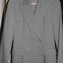 Guess Collection Gray Blazer New  Photo