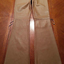 Guess Collection Lady's Leather Pants Photo