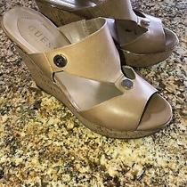 Guess Cork Wedges 6.5 Photo