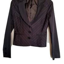 Guess Cropped Jacket/blazer Preowned  Size Small Photo