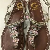 Guess Crystal Sandals Photo