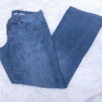 Guess Dark Blue Denim Jeans Womens Size 27 Drew Flare Pants  Photo