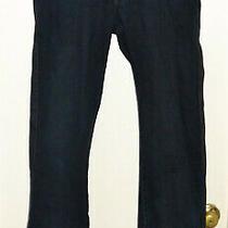 Guess Dark Blue Jeans Button Close Size 32 Cotton Photo