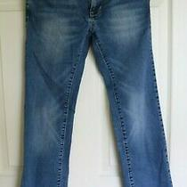Guess Denim Jeans Low Rise Straight Pismo Fit Sz 27  Med Wash Photo
