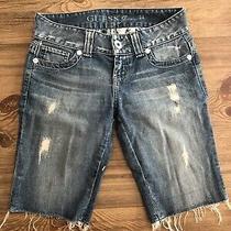 Guess Denim Shorts Size 24 Photo