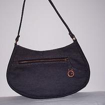 Guess Denim Shoulder Handbag Photo