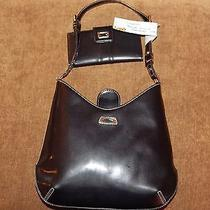 Guess Designer Handbag With Matching Wallet Photo