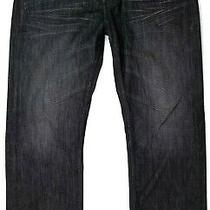 Guess Desmond Relaxed Fit Black Jeans Size 38 X 32 Men's Photo