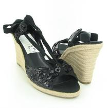 Guess Dyanne Wedges Black Womens Size 9 M New 89 Photo