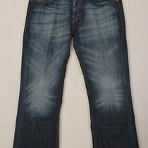 Guess Falcon Boot Cut Blue Jeans Men's 36 X 29 Macy's 150th Anniversary Photo