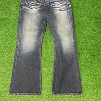 Guess Falcon Boot Cut Fit Mens Blue Jeans Mens Size 33 Photo