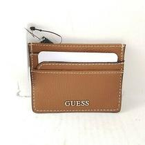 Guess Faux Leather Slim Credit Card Case Wallet.. New  Photo