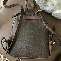 Guess Felton - Mini/ X Small Backpack Purse Mocha/brown Log  -Style Sv739530 Photo