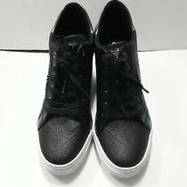 Guess Flowurs Logo-Debossed Ladies Wedge Heels Sneakers -Shoes Size 9m Nwob. Photo