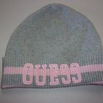 Guess Girls Beanie Knit Hat Gray Photo