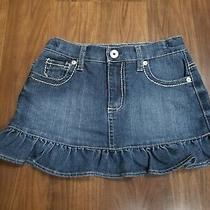 Guess Girls Denim Skirt Size 6x Photo