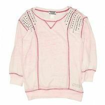 Guess Girls Pink Sweatshirt 14 Photo