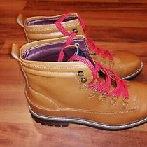 Guess Gmruskin-C Mens Brown With Red Laces Chukka Ankle Boots Size 10 69.99 Photo