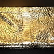 Guess Gold Clutch Photo