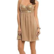 Guess Gold Dress Photo