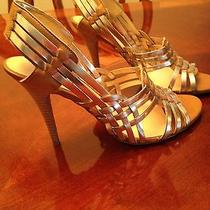 Guess Gold Heels Photo