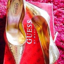 Guess Gold Pumps Photo