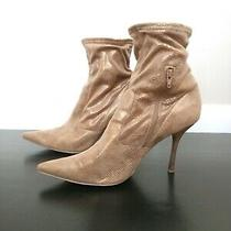 Guess Gold Women's Ankle Boots Size 9 Photo