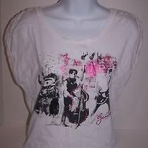 Guess Graphic Cropped T-Shirt Size Medium  Photo