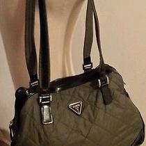 Guess Green Satchel Handbag Photo